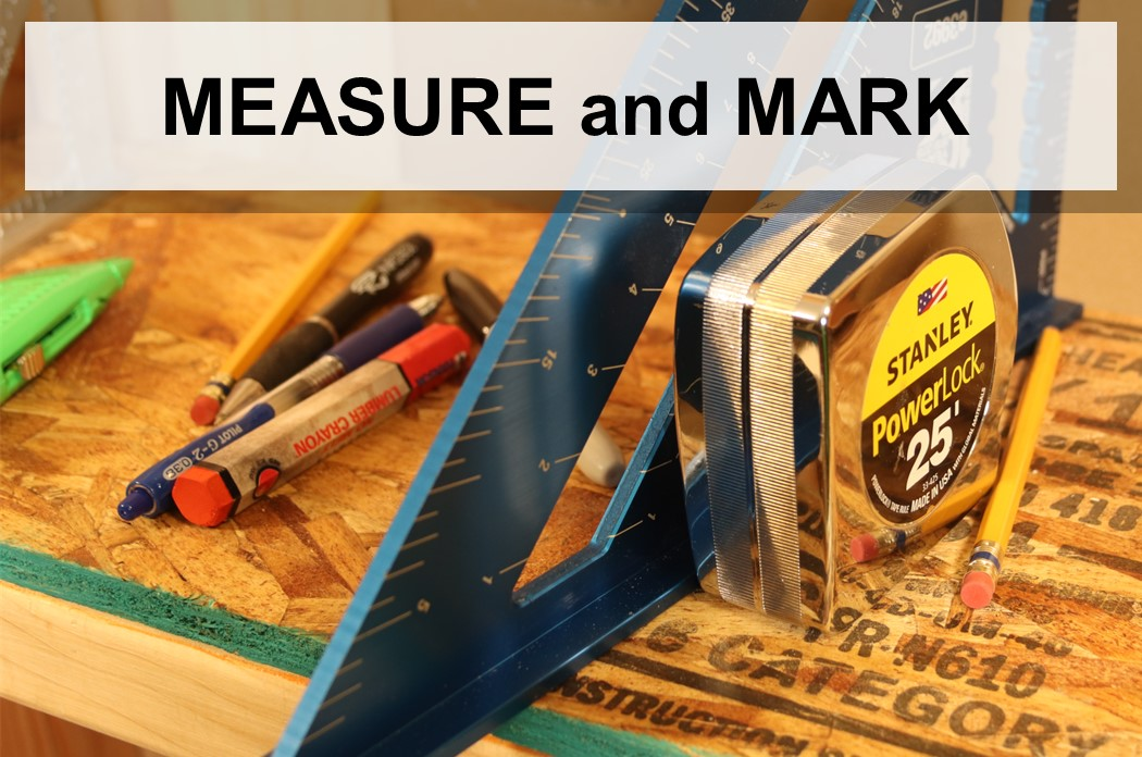 Measure and Mark - Open Course