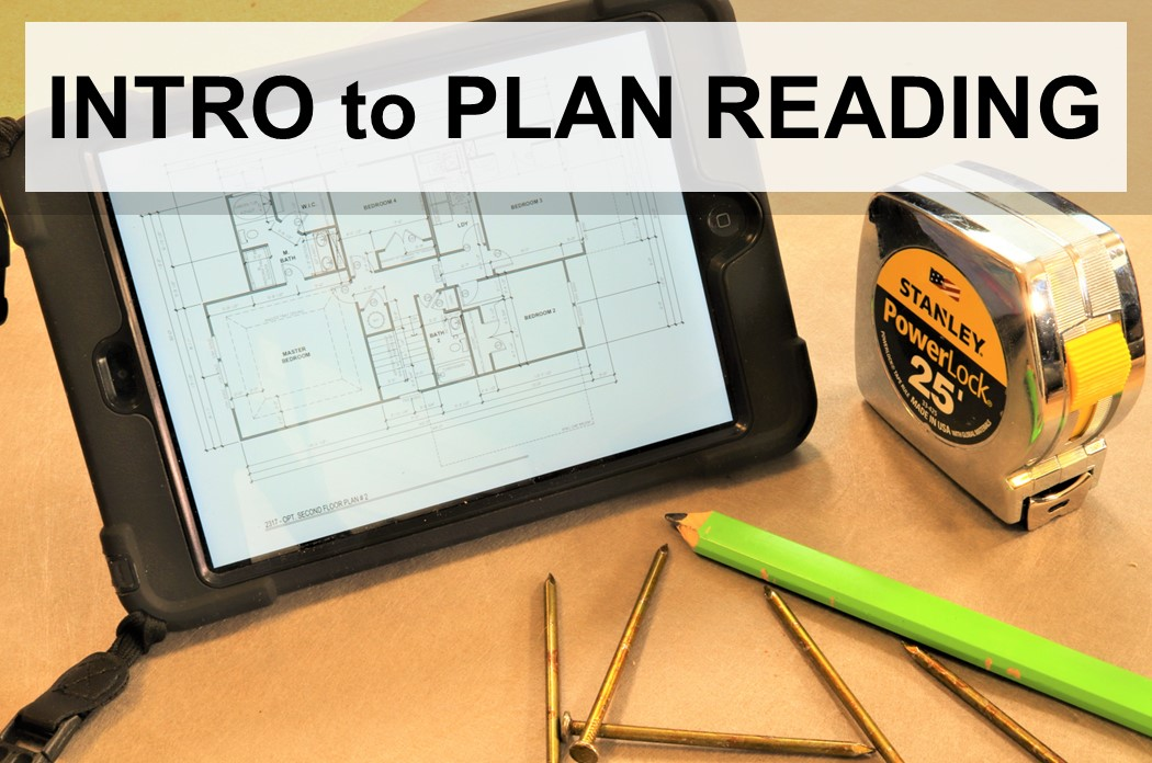 Introduction to Residential Plan Reading - Open Course